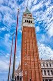 San Marco Campanile royalty-vrije stock fotografie