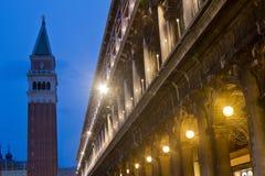 San Marco Campanile Venice Stock Photo
