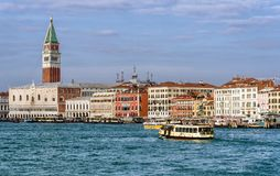 San Marco Campanile in Venice, Italy Stock Photography