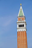 San Marco Campanile in Venice. St Mark's Campanile bell tower in Venice, Italy Royalty Free Stock Photos