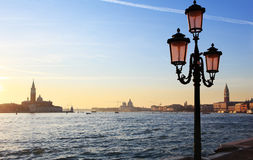 San Marco canal in Venice, Italy Royalty Free Stock Images