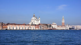 San Marco Cathedral from the Water Royalty Free Stock Images