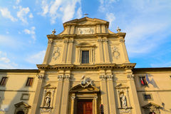 San Marco church on a clear day at sunset Royalty Free Stock Image