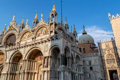 San Marco Low Angle Royalty Free Stock Photo
