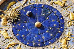 San Marco Clock Royalty Free Stock Photo