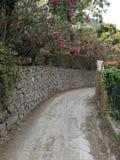 San Marco di Castellabate - via Vallonealto Fotografia Stock Libera da Diritti