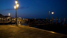 San Marco en la noche almacen de metraje de vídeo
