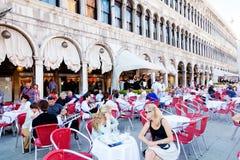 San Marco kwadrat, Wenecja Obraz Stock