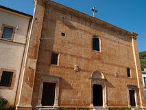 San Marco in Lamis - Italien Stockfotos