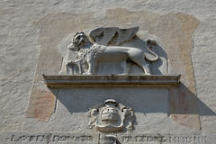 The San Marco Lions, Symbol of Venice Royalty Free Stock Images