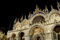 San Marco at Night Stock Photo