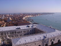 San Marco. Overview on the San Marco square in Venice stock images