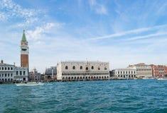 San Marco, palazzo del doge a Venezia, Italia Fotografia Stock