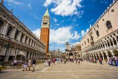 San Marco Piazza à Venise Images libres de droits