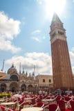 San Marco Piazza en Venecia Fotos de archivo libres de regalías