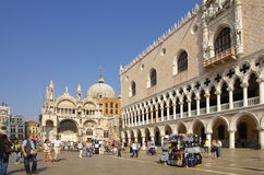 San Marco Piazza Royalty Free Stock Images