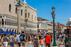 San Marco Piazza in Venice Royalty Free Stock Image