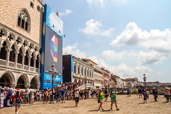 San Marco Plaza Venice Stockfoto