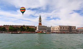 The San Marco Plaza Venice. The San Marco Plaza in Venice Italy royalty free stock images