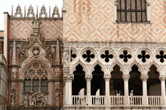 The San Marco Plaza Venice. The scenery at San Marco Plaza in Venice Italy stock images