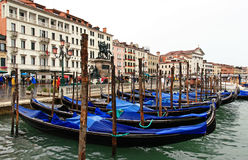 The San Marco Plaza Venice. The scenery at San Marco Plaza in Venice Italy stock photography