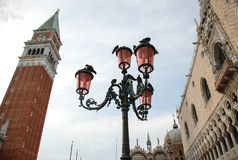 San Marco Plazza, Venecia, Italia Foto de archivo libre de regalías