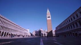 San Marco Square de Veneza filme