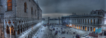 San Marco Square (HDR). A photo of San Marco Square in Venice Italy enhanced with HDR effects Stock Photo