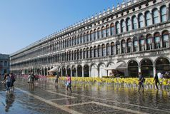 San Marco square Royalty Free Stock Photography