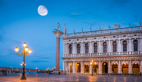 San Marco square in the morning Stock Images