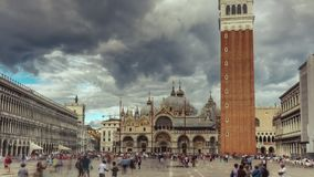 San Marco Square Timelapse filme