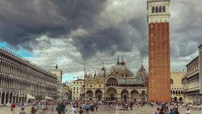 San Marco Square Timelapse video estoque