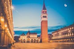 San Marco Square, Venecia Imágenes de archivo libres de regalías