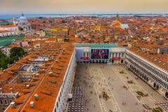 San Marco Square in Venedig, Italien Stockfoto