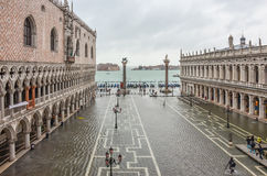 San Marco square in Venice Stock Images