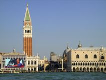 San Marco Square in Venice Royalty Free Stock Photos