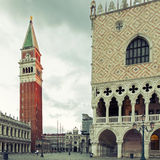 San Marco square in Venice Stock Photo