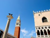 San Marco square in Venice  - italy Stock Photos