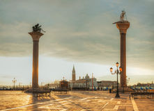 San Marco square in Venice, Italy Stock Image