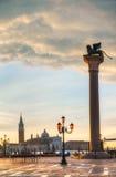 San Marco square in Venice, Italy Stock Photos
