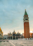 San Marco square in Venice, Italy Royalty Free Stock Photos