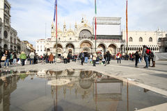 San Marco Square, Venice Royalty Free Stock Images