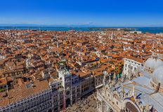 San Marco square in Venice Italy Stock Photography
