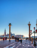San Marco square in Venice, Italy Royalty Free Stock Images