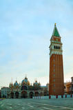San Marco square in Venice, Italy Stock Images