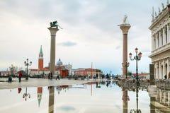 San Marco square in Venice, Italy Stock Photo