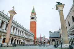 San Marco square in Venice Royalty Free Stock Photo