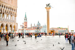 San Marco square in Venice Stock Photos