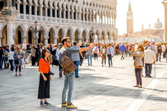 San Marco square in Venice Royalty Free Stock Photography