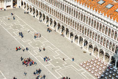 San Marco square in Venice Royalty Free Stock Images